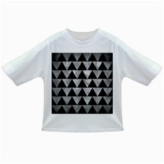 Triangle2 Black Marble & Gray Metal 2 Infant/toddler T Shirts