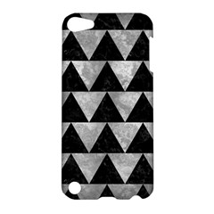 Triangle2 Black Marble & Gray Metal 2 Apple Ipod Touch 5 Hardshell Case