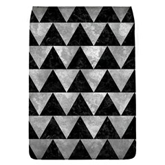Triangle2 Black Marble & Gray Metal 2 Flap Covers (s)