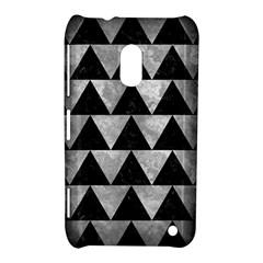 Triangle2 Black Marble & Gray Metal 2 Nokia Lumia 620
