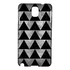 Triangle2 Black Marble & Gray Metal 2 Samsung Galaxy Note 3 N9005 Hardshell Case