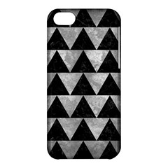 Triangle2 Black Marble & Gray Metal 2 Apple Iphone 5c Hardshell Case