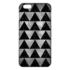 Triangle2 Black Marble & Gray Metal 2 Iphone 6 Plus/6s Plus Tpu Case
