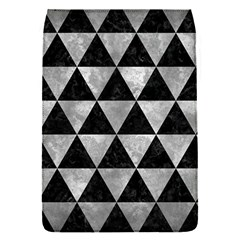 Triangle3 Black Marble & Gray Metal 2 Flap Covers (s)