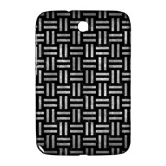 Woven1 Black Marble & Gray Metal 2 Samsung Galaxy Note 8 0 N5100 Hardshell Case