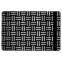 Woven1 Black Marble & Gray Metal 2 Ipad Air 2 Flip