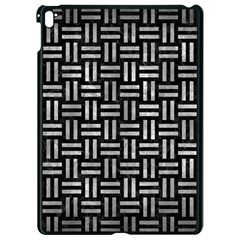 Woven1 Black Marble & Gray Metal 2 Apple Ipad Pro 9 7   Black Seamless Case