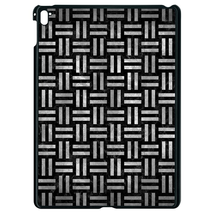 WOVEN1 BLACK MARBLE & GRAY METAL 2 Apple iPad Pro 9.7   Black Seamless Case