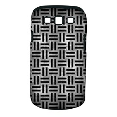 Woven1 Black Marble & Gray Metal 2 (r) Samsung Galaxy S Iii Classic Hardshell Case (pc+silicone)