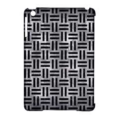 Woven1 Black Marble & Gray Metal 2 (r) Apple Ipad Mini Hardshell Case (compatible With Smart Cover)