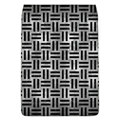 Woven1 Black Marble & Gray Metal 2 (r) Flap Covers (l)