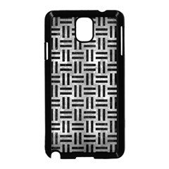 Woven1 Black Marble & Gray Metal 2 (r) Samsung Galaxy Note 3 Neo Hardshell Case (black)