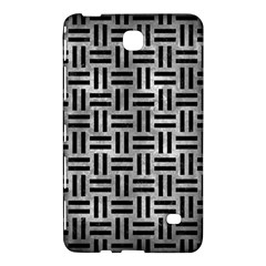 Woven1 Black Marble & Gray Metal 2 (r) Samsung Galaxy Tab 4 (8 ) Hardshell Case