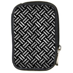 Woven2 Black Marble & Gray Metal 2 Compact Camera Cases