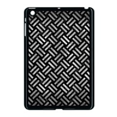 Woven2 Black Marble & Gray Metal 2 Apple Ipad Mini Case (black)