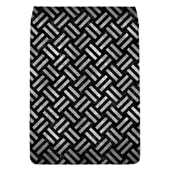 Woven2 Black Marble & Gray Metal 2 Flap Covers (s)