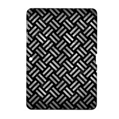 Woven2 Black Marble & Gray Metal 2 Samsung Galaxy Tab 2 (10 1 ) P5100 Hardshell Case