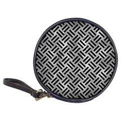 Woven2 Black Marble & Gray Metal 2 (r) Classic 20 Cd Wallets