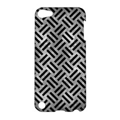 Woven2 Black Marble & Gray Metal 2 (r) Apple Ipod Touch 5 Hardshell Case