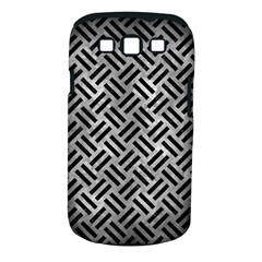 Woven2 Black Marble & Gray Metal 2 (r) Samsung Galaxy S Iii Classic Hardshell Case (pc+silicone)