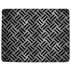 Woven2 Black Marble & Gray Metal 2 (r) Jigsaw Puzzle Photo Stand (rectangular)