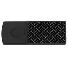 Brick2 Black Marble & Gray Stone Rectangular Usb Flash Drive
