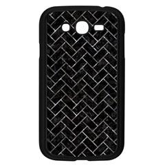 Brick2 Black Marble & Gray Stone Samsung Galaxy Grand Duos I9082 Case (black)