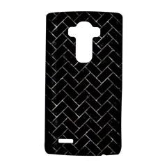 Brick2 Black Marble & Gray Stone Lg G4 Hardshell Case