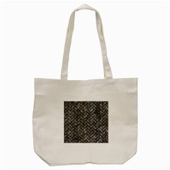 Brick2 Black Marble & Gray Stone (r) Tote Bag (cream)