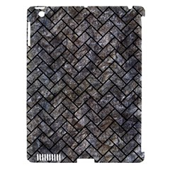 Brick2 Black Marble & Gray Stone (r) Apple Ipad 3/4 Hardshell Case (compatible With Smart Cover)