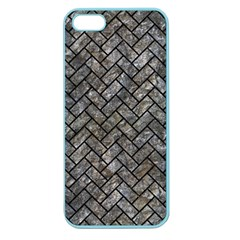 Brick2 Black Marble & Gray Stone (r) Apple Seamless Iphone 5 Case (color)
