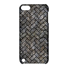 Brick2 Black Marble & Gray Stone (r) Apple Ipod Touch 5 Hardshell Case With Stand