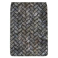 Brick2 Black Marble & Gray Stone (r) Flap Covers (l)