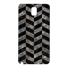 Chevron1 Black Marble & Gray Stone Samsung Galaxy Note 3 N9005 Hardshell Back Case
