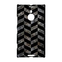 Chevron1 Black Marble & Gray Stone Nokia Lumia 1520