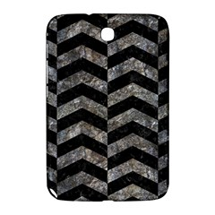 Chevron2 Black Marble & Gray Stone Samsung Galaxy Note 8 0 N5100 Hardshell Case
