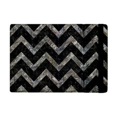 Chevron9 Black Marble & Gray Stone Ipad Mini 2 Flip Cases