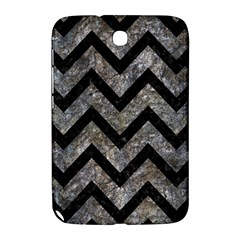 Chevron9 Black Marble & Gray Stone (r) Samsung Galaxy Note 8 0 N5100 Hardshell Case