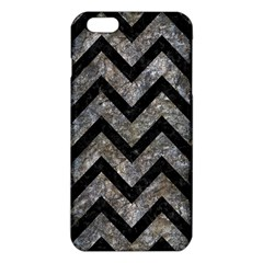 Chevron9 Black Marble & Gray Stone (r) Iphone 6 Plus/6s Plus Tpu Case