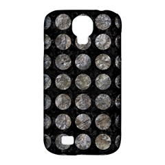Circles1 Black Marble & Gray Stone Samsung Galaxy S4 Classic Hardshell Case (pc+silicone)