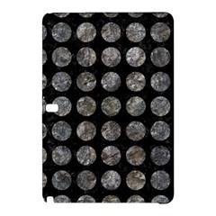 Circles1 Black Marble & Gray Stone Samsung Galaxy Tab Pro 12 2 Hardshell Case