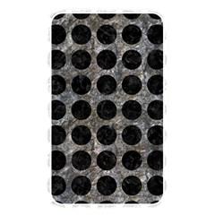 Circles1 Black Marble & Gray Stone (r) Memory Card Reader