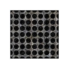 Circles1 Black Marble & Gray Stone (r) Acrylic Tangram Puzzle (4  X 4 )