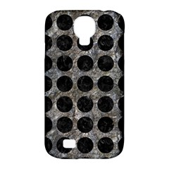 Circles1 Black Marble & Gray Stone (r) Samsung Galaxy S4 Classic Hardshell Case (pc+silicone)