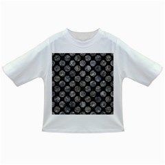 Circles2 Black Marble & Gray Stone Infant/toddler T Shirts