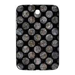 Circles2 Black Marble & Gray Stone Samsung Galaxy Note 8 0 N5100 Hardshell Case