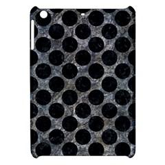 Circles2 Black Marble & Gray Stone (r) Apple Ipad Mini Hardshell Case