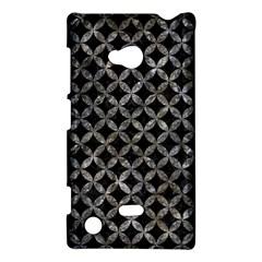 Circles3 Black Marble & Gray Stone Nokia Lumia 720