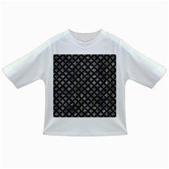 Circles3 Black Marble & Gray Stone (r) Infant/toddler T Shirts