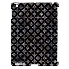 Circles3 Black Marble & Gray Stone (r) Apple Ipad 3/4 Hardshell Case (compatible With Smart Cover)
